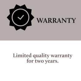 GR 1 - Warranty