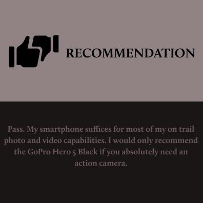 Hero 5 Black - Recommendation