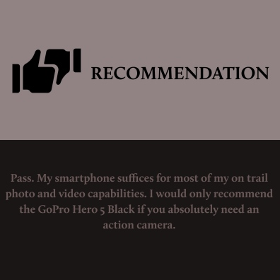 Hero 5 Black - Recommendation