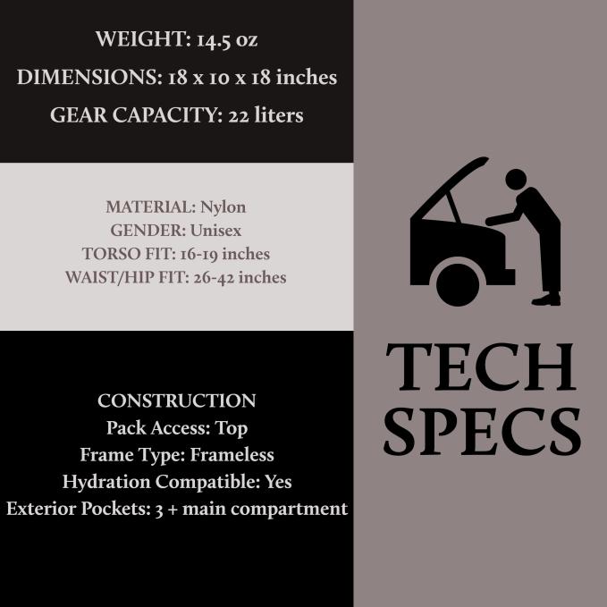 REI Flash Tech Specs