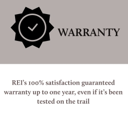 REI Flash Warranty
